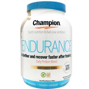 Champion Naturals Endurance Protein Powder review